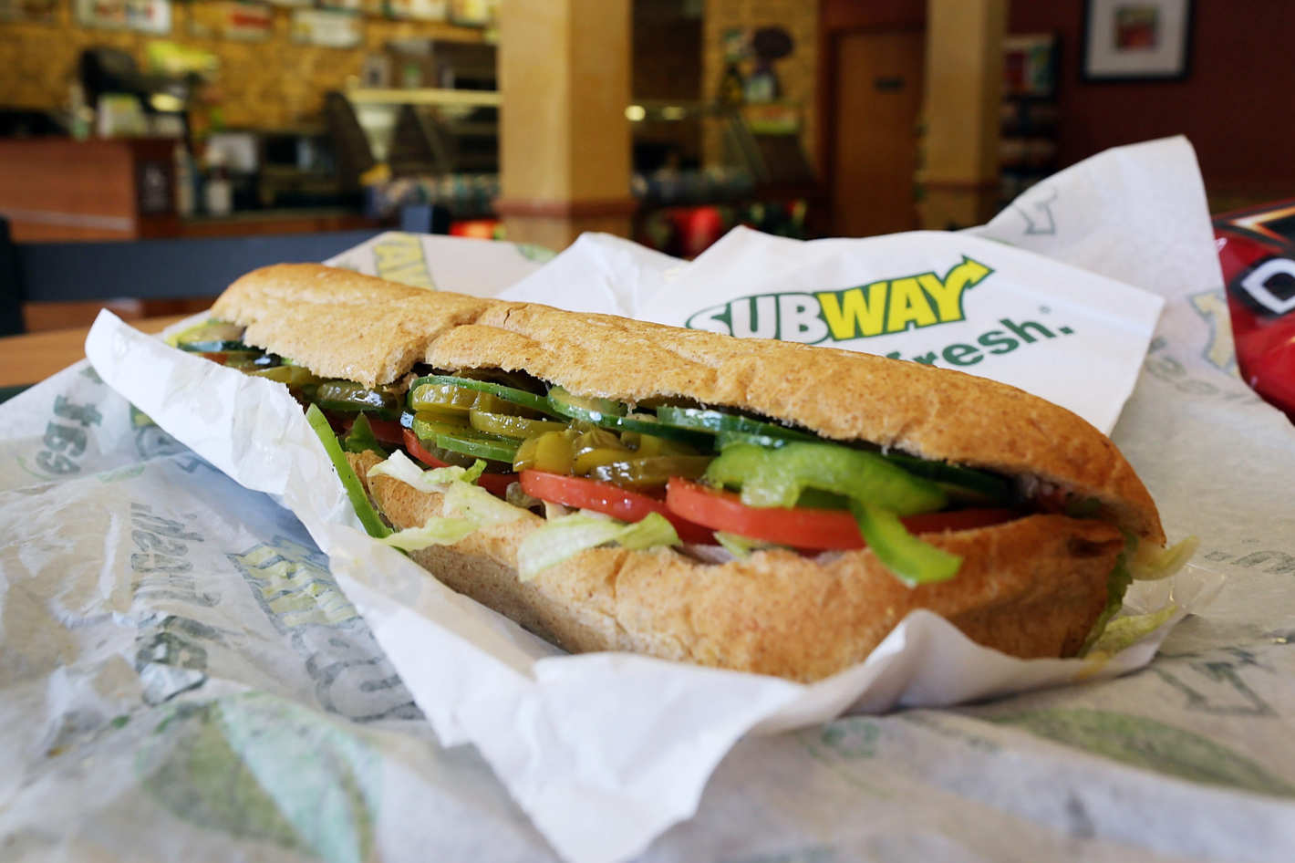 Two can dine for £7 at Subway