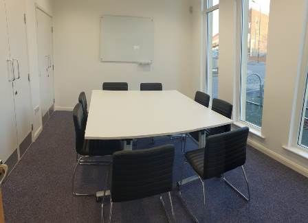 Langley Library meeting room