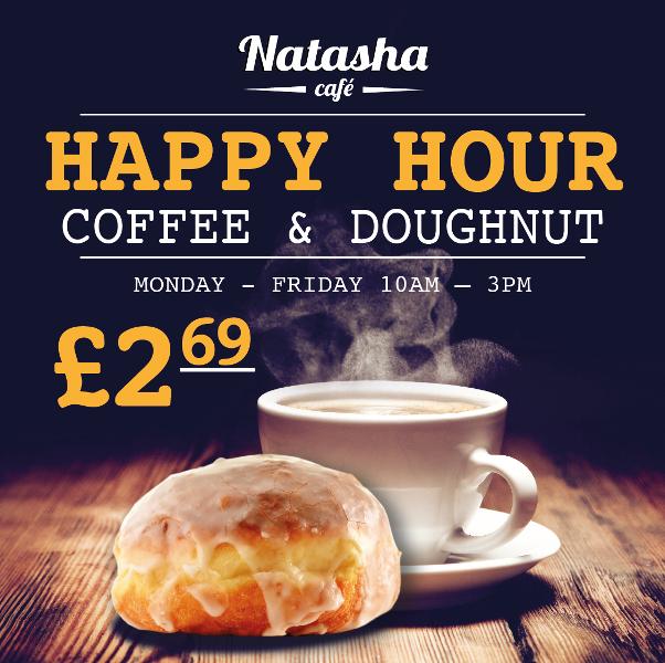 Coffee & Doughnut at £2.69